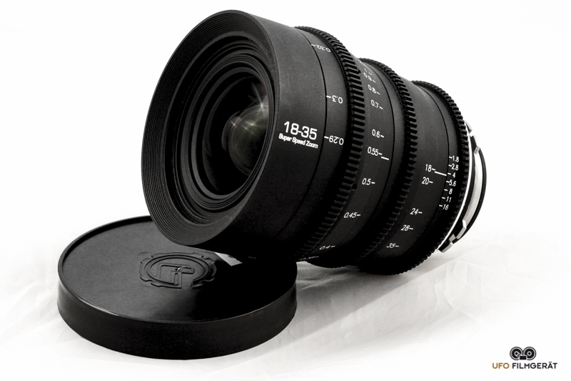 das lichtst rkste zoom 18 35mm 1 8 ufo filmger t kameraverleih in m nchen berlin und per. Black Bedroom Furniture Sets. Home Design Ideas