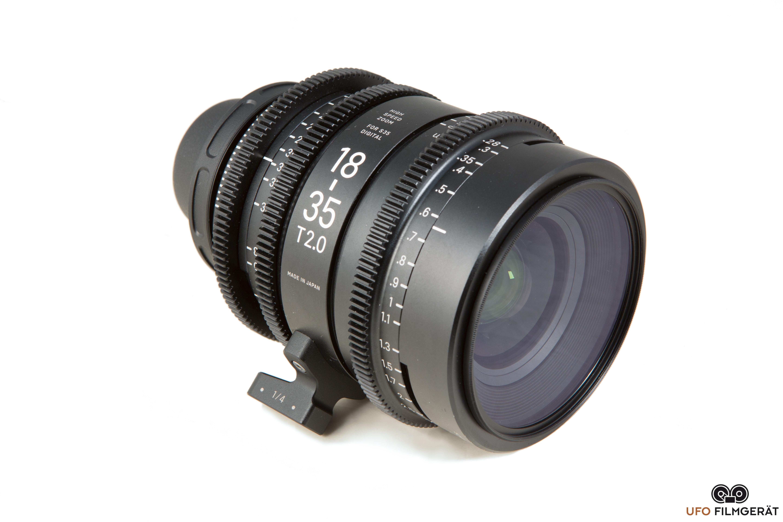 sigma high speed 18 35mm 2 0 und 50 100mm 2 0 pl mount ufo filmger t kameraverleih in. Black Bedroom Furniture Sets. Home Design Ideas